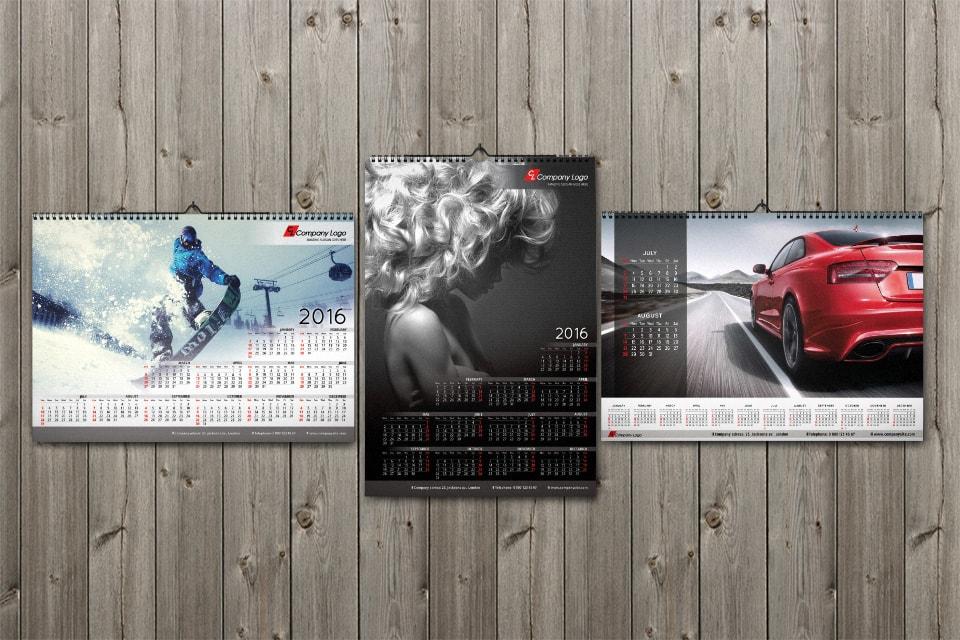 Graphicriver Calendars Template